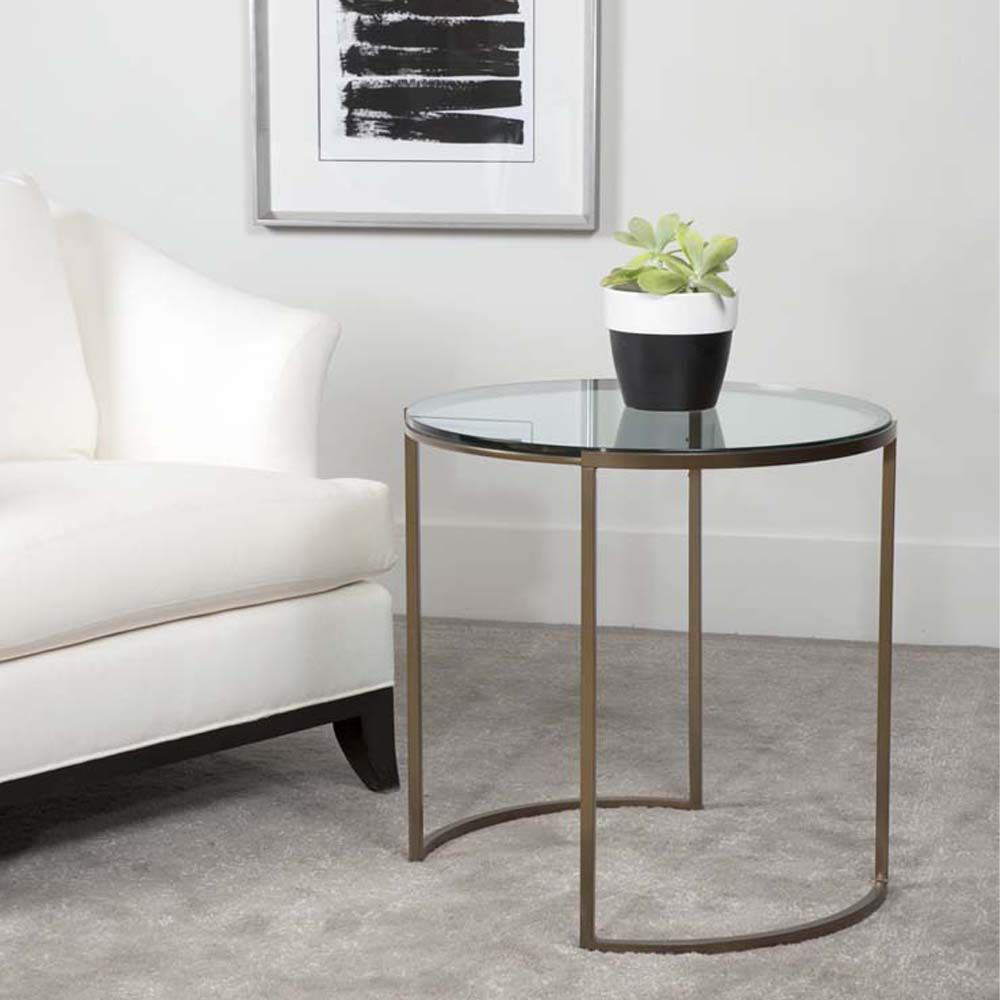 Picture of TAYLOR ROUND END TABLE