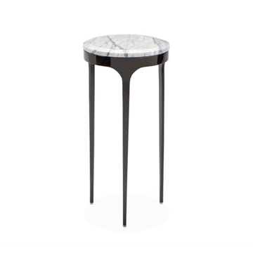 Picture of CAMILLA DRINK TABLE,STEEL/MARB