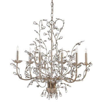 Picture of CRYSTAL BUD CHANDELIER, MEDIUM