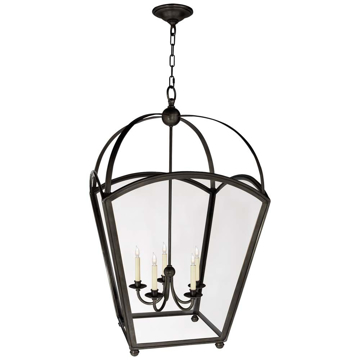 Picture of ARCH TOP LG TPRED LANTERN, BZ