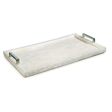 Picture of WHITE BONE AND NICKEL TRAY