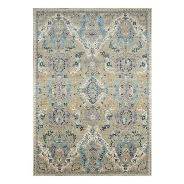 Picture of OUSHAK RUG, TAU/BL/LAV