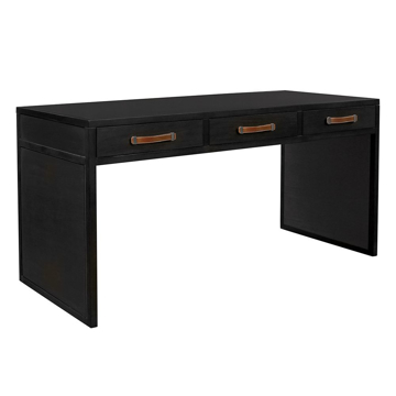 Picture of HARRISON 3 DRAWER WRITING DESK