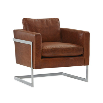 Picture of MANN LEATHER CHAIR