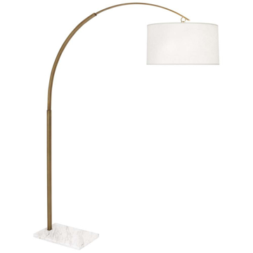 Picture of ARCHER FLOOR LAMP, WM BRASS