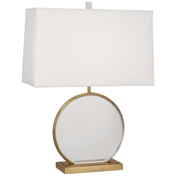 Picture of ALICE TABLE LAMP, ANT BRASS