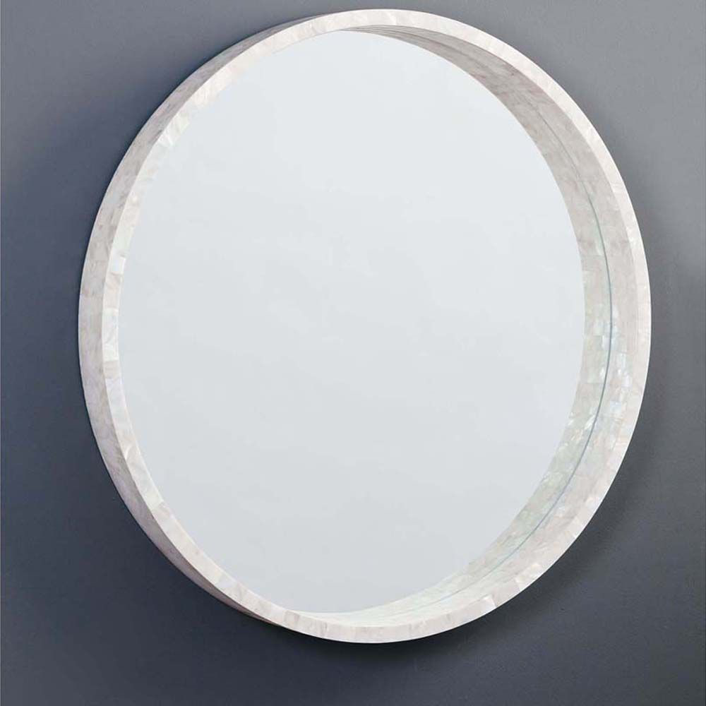 """Picture of MOTHER OF PEARL MIRROR, LG 36"""""""