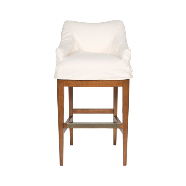 Picture of MODERN SLIPCVR COUNTER STOOL