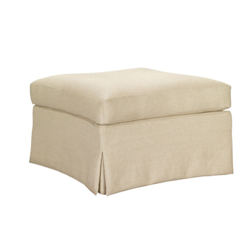 Picture of VIRGINIA SKIRTED OTTOMAN