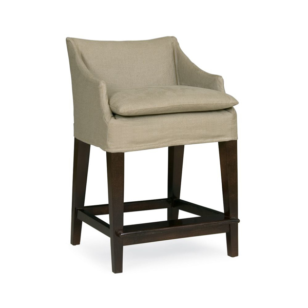 Picture of CAMPAIGN SLIPCVD COUNTER STOOL