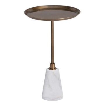 Picture of CELESTE ACCENT TABLE - BRASS