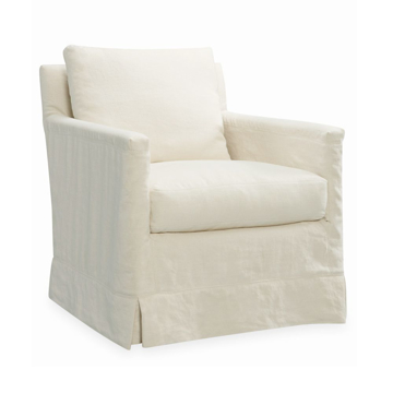 Picture of WESTEND SLIPCOVER SWIVEL CHAIR