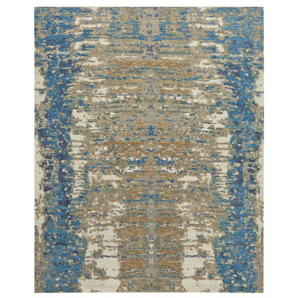 Picture of REFLECTED BLUE-GREY AREA RUG