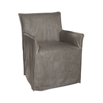 Picture of RILEY LEATHER SLIPC. ARM CHAIR