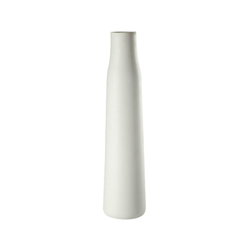 Picture of BALTIC MATTE WHITE VASE, TALL