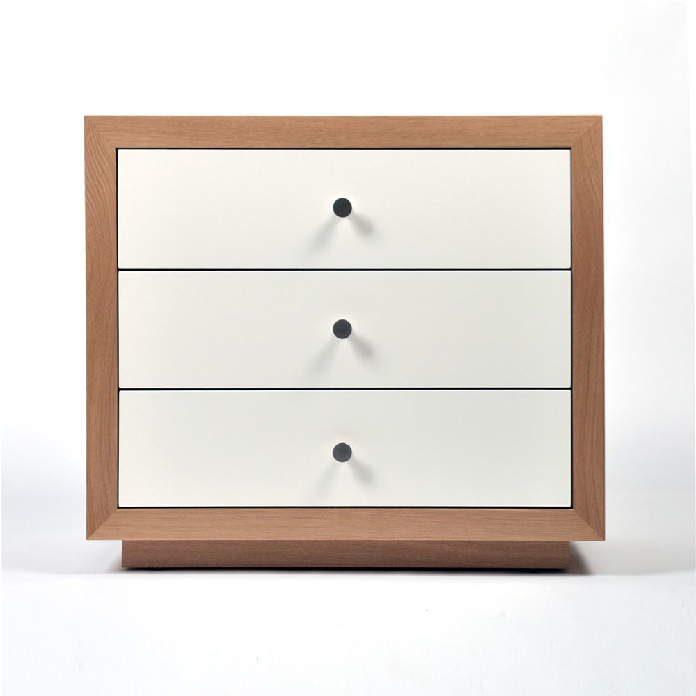 Picture of BRETON 3-DRAWER NIGHTSTAND