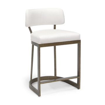 """Picture of CONRAD 24"""" COUNTER STOOL, GOLD"""
