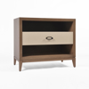 Picture of BRETON MID-DRAWER NIGHTSTAND