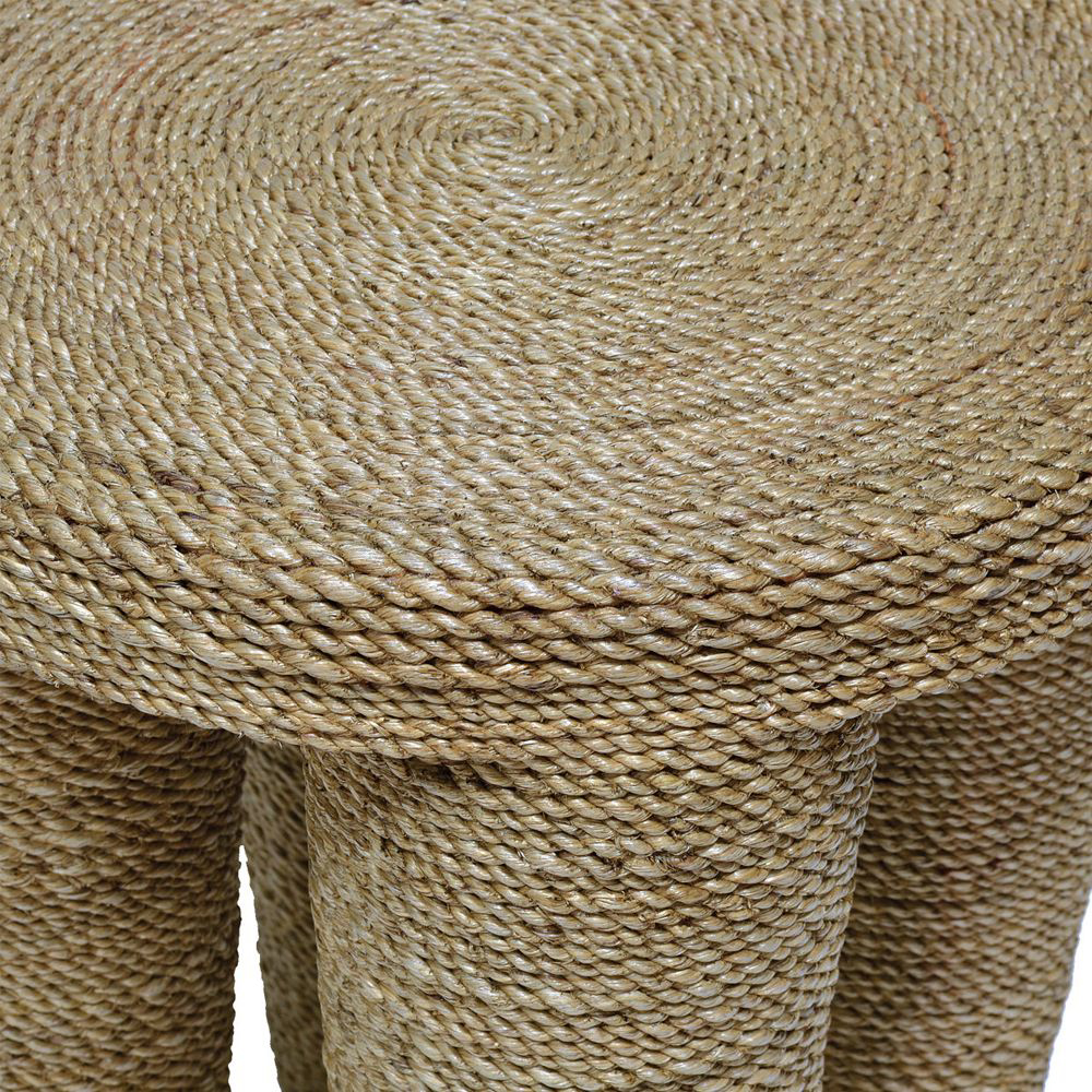 Picture of WRAPPED ROPE FOOTED STOOL
