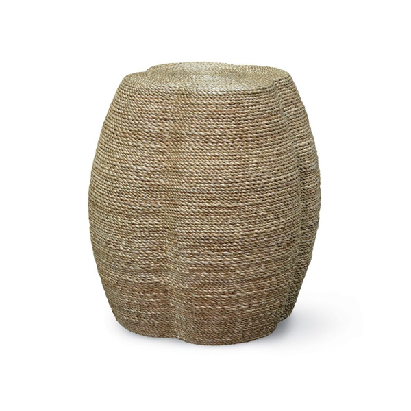 Picture of WRAPPED ROPE CLOVER STOOL