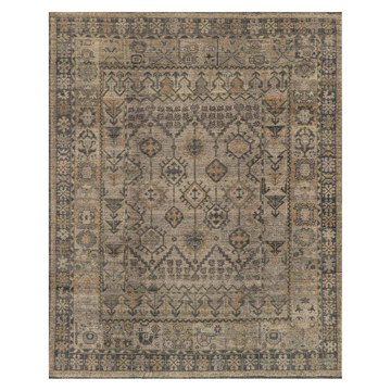 Picture of HEIRLOOM RUG, BONE/CHARCOAL