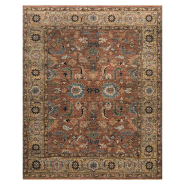 Picture of HEIRLOOM RUG, BRICK/SAND