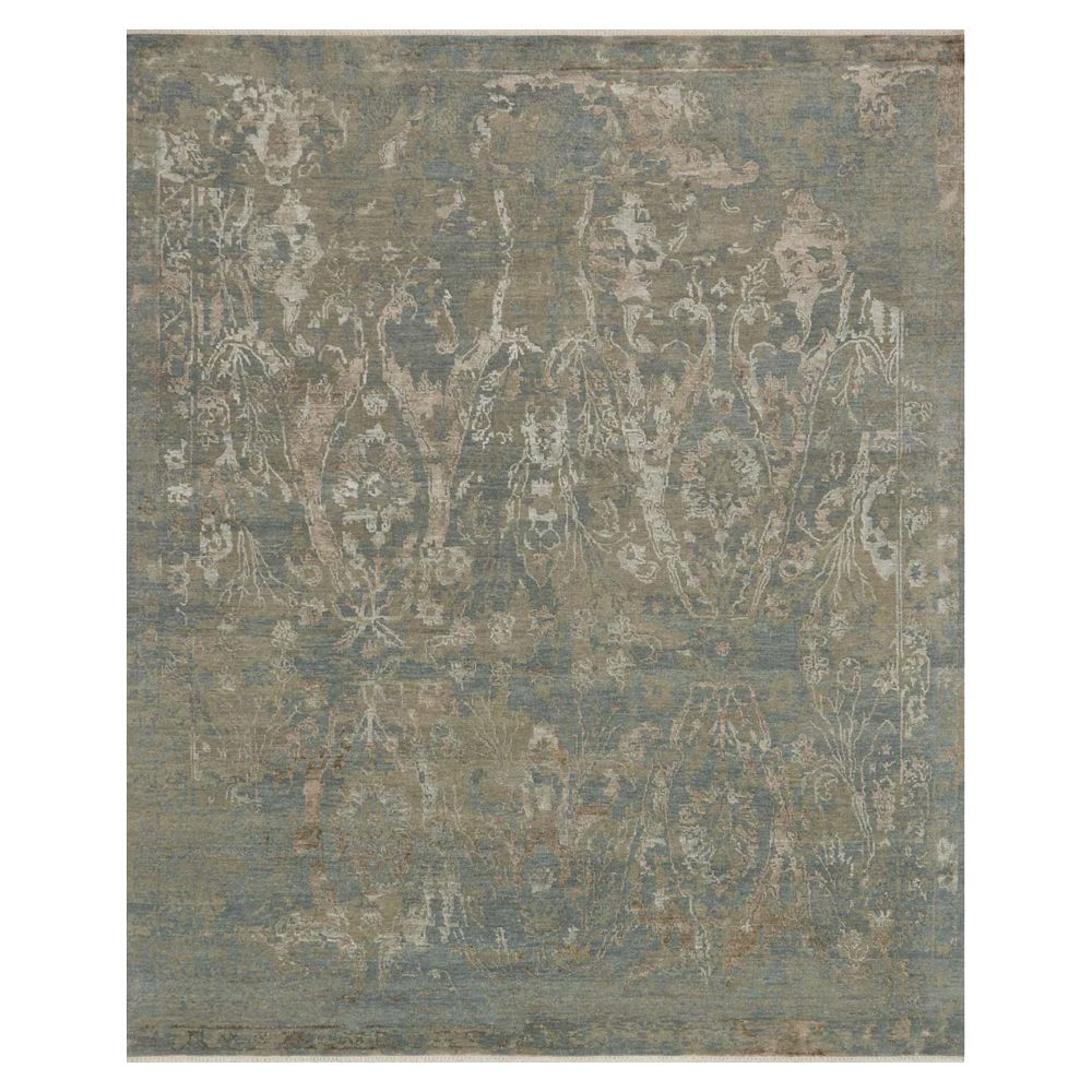 Picture of NEW ARTIFACT RUG, SEA/TAUPE