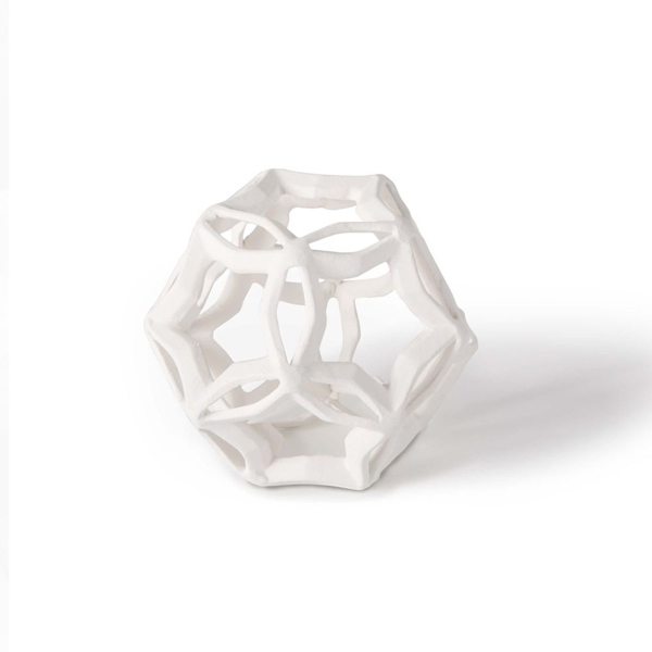 Picture of GEOMETRIC STAR SMALL,WHT