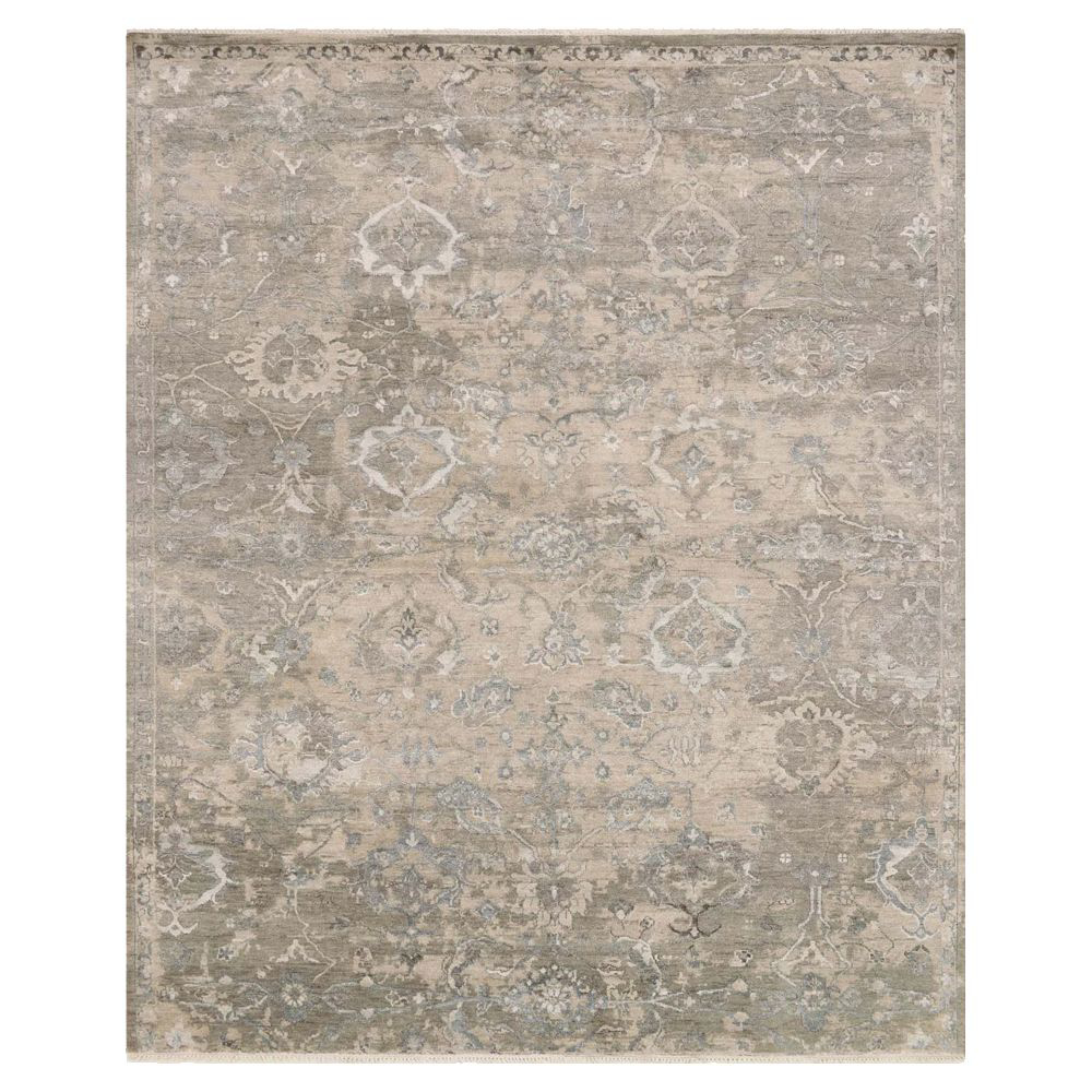 Picture of NEW ARTIFACT RUG, SAND/SILVER