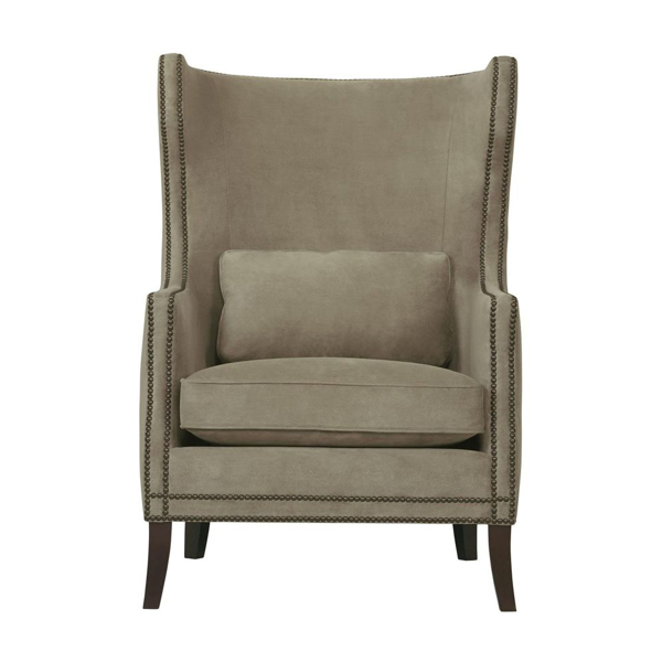 Picture of KINGSTON LEATHER WING CHAIR