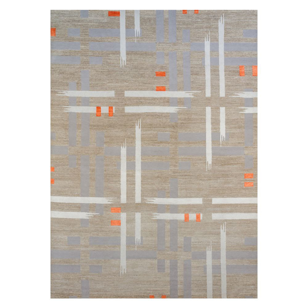 Picture of NEPALESE RUG, BR/BE/GR