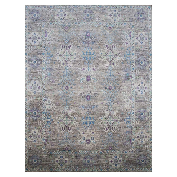 Picture of OUSHAK RUG, GR/BL/VI