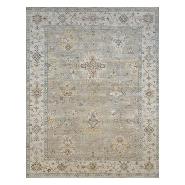 Picture of OUSHAK RUG, BE/BL/BR