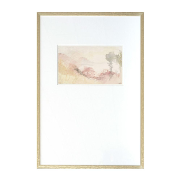 Picture of TURNER SCAPES - BLUSH IV