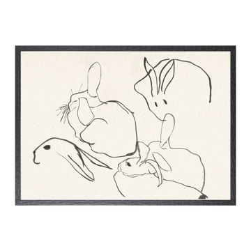 Picture of COLLECTION 12 RABBIT STUDY