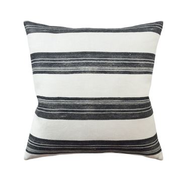 Picture of ASKEW PILLOW, 22X22,IVORY/ONYX