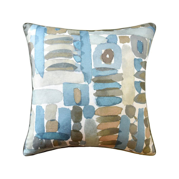 Picture of MORIYAMA PILLOW, 22X22, LAKE