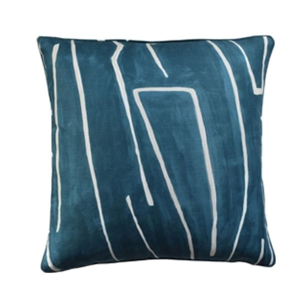 Picture of GRAFFITO PILLOW, 22X22, TEAL