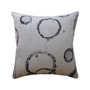Picture of RETOUCHE PILLOW, 22x22, TRUFFL