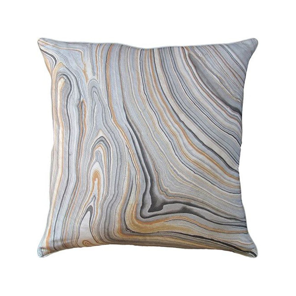 Picture of CARARRA PILLOW, 22X22, SMOKE