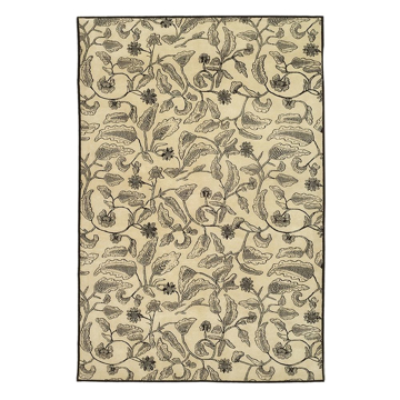 Picture of BATIK AREA RUG, 8X10 CREAM/CHC