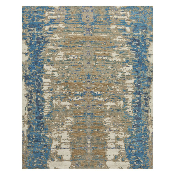 Picture of REFLECTION RUG, 8X10 BLUE