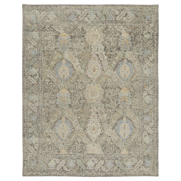 Picture of CHARTWELL RUG, 8X10 GR/BL