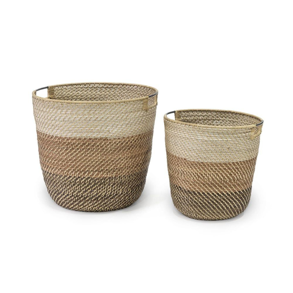 Picture of BIXBY BASKETS UMBER, SET/2