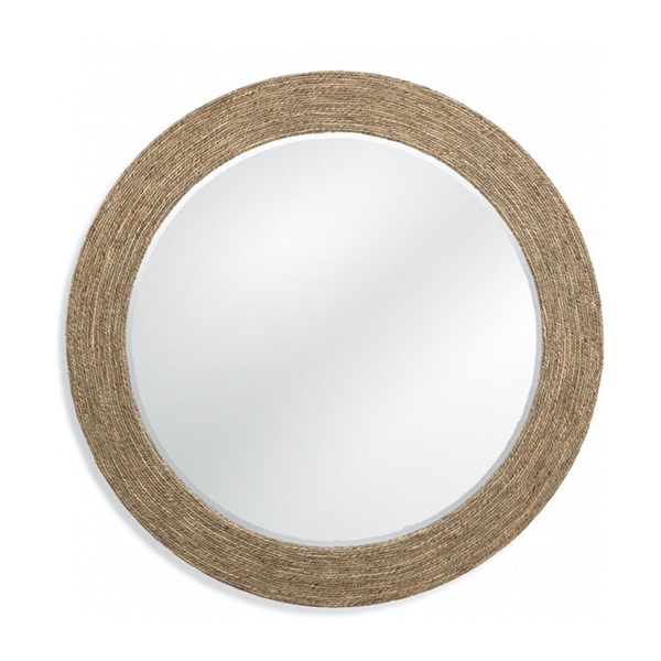 Picture of KUNA WALL MIRROR, NATURAL ROPE