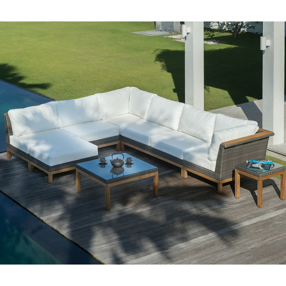 Picture of AZORES SECT'NL ARMLESS SETTEE