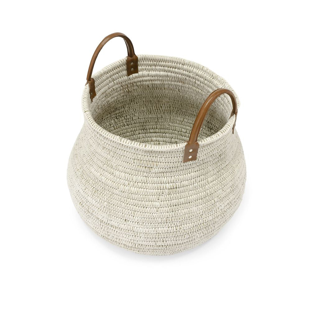 Picture of CAIRO BASKET WHITE, LARGE