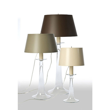 Picture of GLASS TABLE LAMP, MEDIUM
