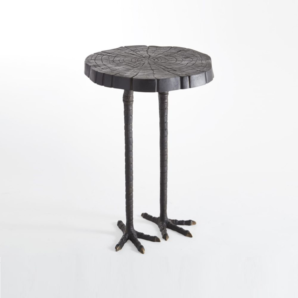 Picture of OSTRICH SIDE TABLE