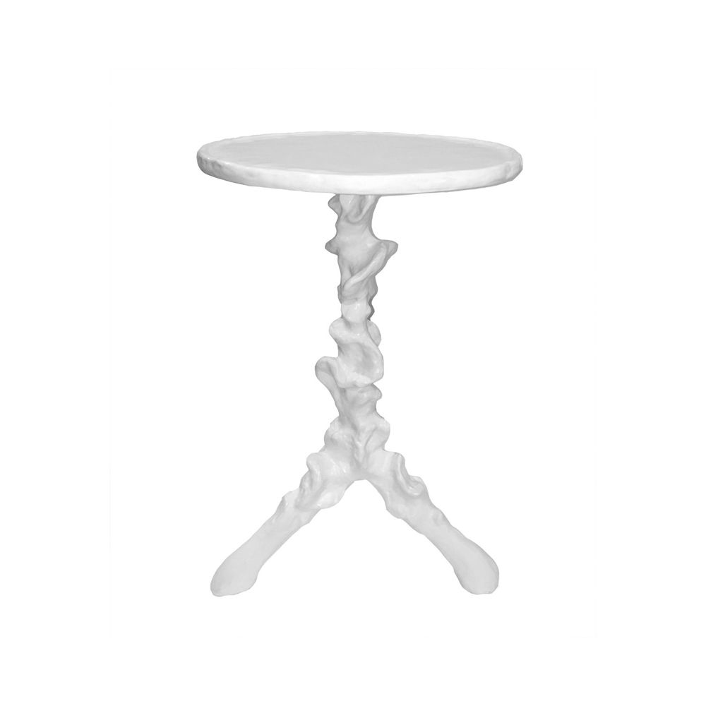 Picture of KLEMM TALL SIDE TABLE, WHITE